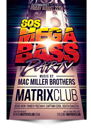 80s Mega Bass Party
