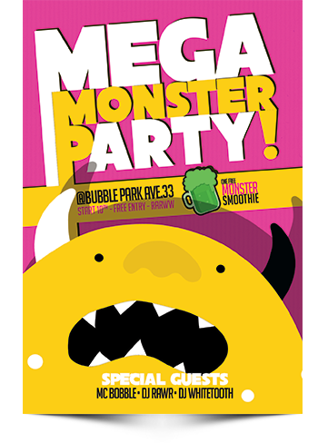 Mega Monster Party